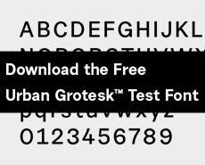 <p>Urban Grotesk Microsite.</p>